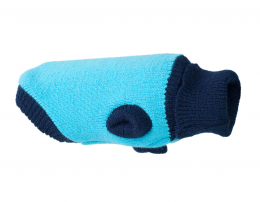 Джемпер для собак - AmiPlay Sweater Oslo, blue, 28 cм