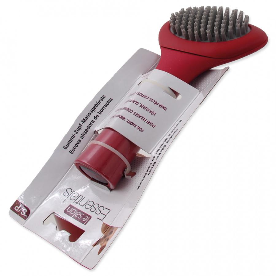 Suka suņiem - Le Salon Essentials Dog Rubber Slicker Brush, Small