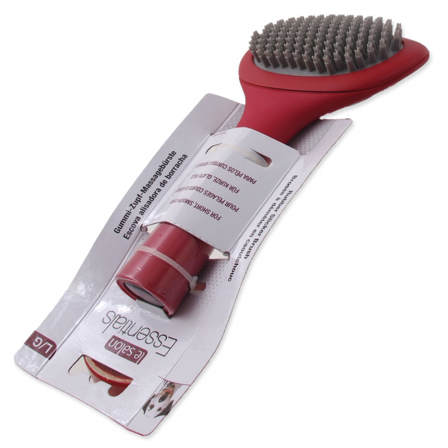 Suka suņiem - Le Salon Essentials Dog Rubber Slicker Brush, Large