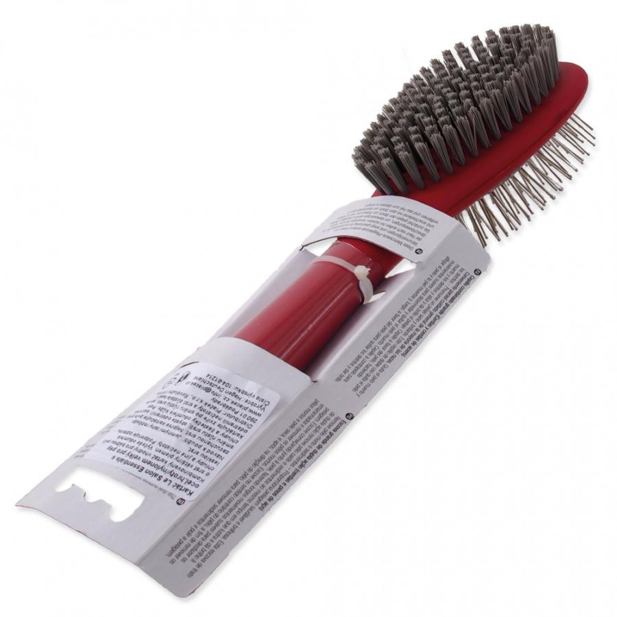 Расческа для собак – Le Salon, Essentials Dog Bristle and Steel Pin Combo Brush, Large