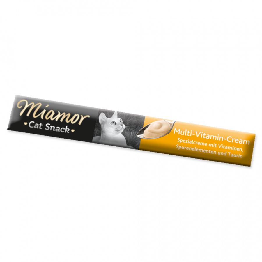 Лакомство для кошек - Miamor Multi-Vitamin Cream, 6 x 15 г