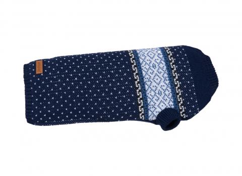 Джемпер для собак - AmiPlay Sweater Bergen, navy blue, 50 cм title=