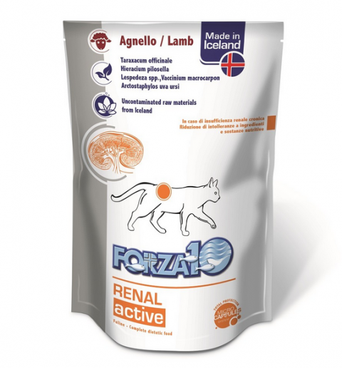 Veterinārie konservi kaķiem - FORZA10 ACTIVE LINE Renal ActiWet, 100 g title=
