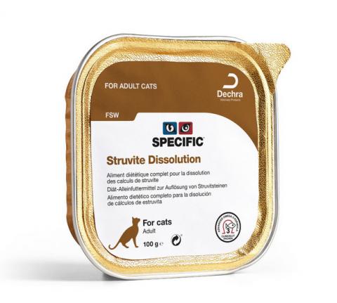 Veterinārie konservi kaķiem - Specific FSW Struvite Dissolution, 100 g title=