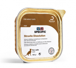 Veterinārie konservi kaķiem - Specific FSW Struvite Dissolution, 100 g