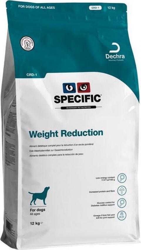 Ветеринарный корм для собак - Specific CRD-1 Weight Reduction, 12 кг title=