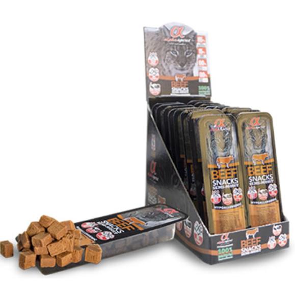 Gardums kaķiem - ALPHA Spirit Cat Food Snack Beef, 35 g