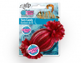 Rotaļlіeta kaķiem - AFP Knotty Habit Yarn Candy, 10x5x5 cm