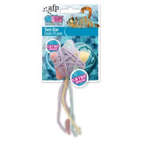 Игрушка для кошек – AFP Knotty Habit Yarn Star, 12 x 5 x 3 cм title=