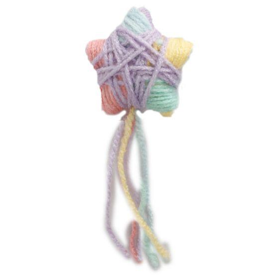 Игрушка для кошек – AFP Knotty Habit Yarn Star, 12 x 5 x 3 cм