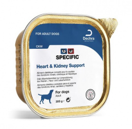 Veterinārie konservi suņiem - Specific CKW, Kidney Support 300 g
