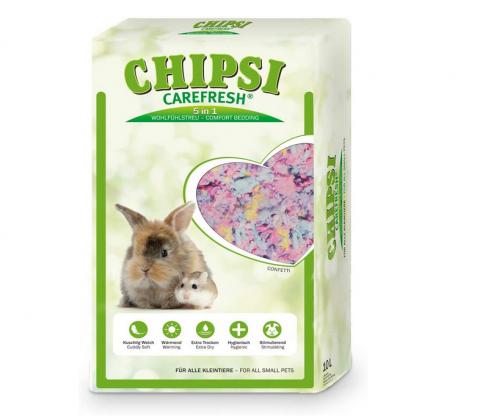 Pakaiši dzīvnieku būriem - Chipsi, Carefresh Confetti, 10 litri title=