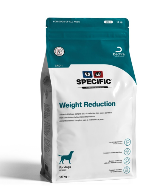 Ветеринарный корм для собак - Specific CRD-1 Weight Reduction, 1,6 кг title=