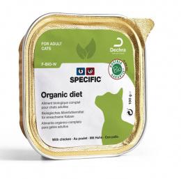 Dietiskie konservi kaķiem - Specific F-BIO-W ar vistu, 100g