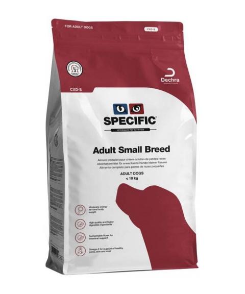 Ветеринарный корм для собак - Specific CXD-S Adult Small Breed, 1 кг title=