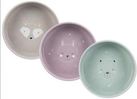 Keramikas bļoda suņiem – TRIXIE Ceramic Bowl Junior, 0,3 l title=