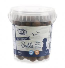 Лакомство для собак - TRIXIE BE NORDIC Salmon Balls, 500 г