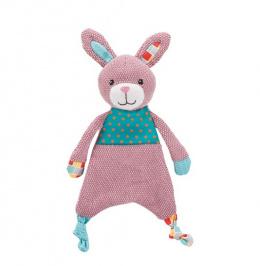 Rotaļlieta kucēniem - Trixie Junior Rabbit, fabric/plush, 28 cm