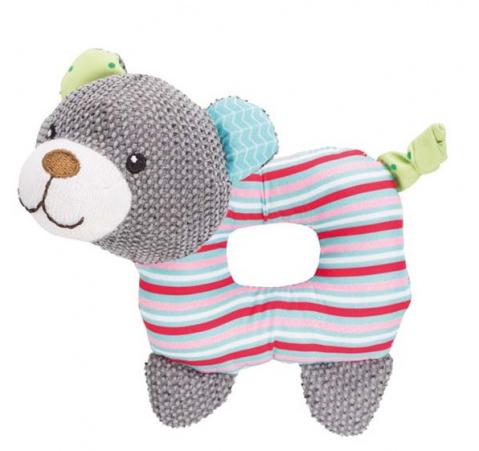 Игрушка для щенков - Trixie Junior Bear, fabric, 16 см title=