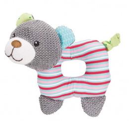 Rotaļlieta kucēniem – TRIXIE Junior Bear, fabric, 16 cm