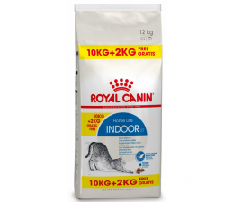 Bar­ība kaķiem - Royal Canin Indoor 10+2 kg