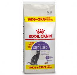 Barība kaķiem - Royal Canin Feline Sterilised 10+2 kg