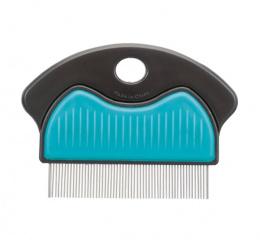 Расчёска для вычесывания блох - Trixie Flea and dust comb, metal, 7см