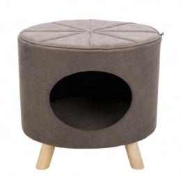 Домик для кошек – TRIXIE Marcy Cuddly Cave with Wooden Feet, 50 x 47 x 38 см