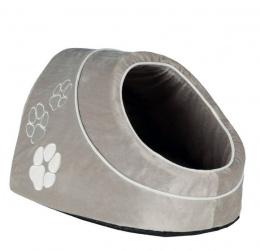 Спальное место для кошек - Trixie Nica cuddly cave, 34x28x41 см, серый цвет