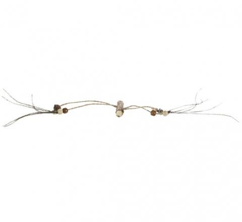 Игрушка для кошек - Trixie Matatabi stick with beads, 44 см title=