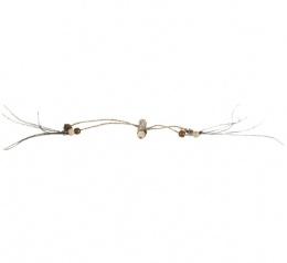 Игрушка для кошек - Trixie Matatabi stick with beads, 44см