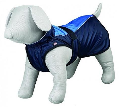 Lietus mētelis suņiem - TRIXIE Intense raincoat, S, 40 cm, krāsa - zila title=