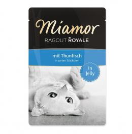 Konservi kaķiem - Miamor Ragout, ar tunci, 100 g