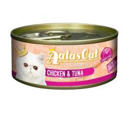 Консервы для кошек - Aatas Cat Creamy, с курицей и тунцом, 80 г