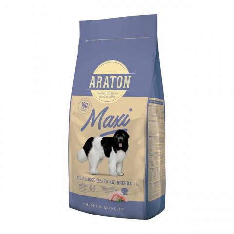 Barība suņiem - Araton Dog adult maxi, 15 kg title=