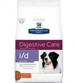 Veterinārā barība suņiem - Hill's Canine i/d low fat, 1.5 kg
