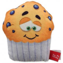 Rotaļlieta suņiem – Dog Fantasy Good's Plush Muffin, small, 10 cm