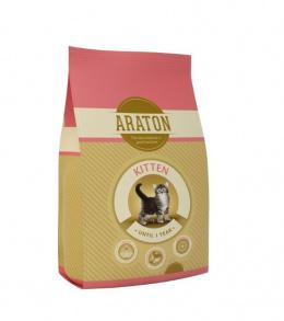 Barība kaķēniem - Araton Kitten, 1,5 kg