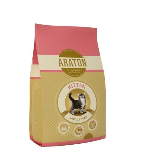 Корм для котят - Araton Kitten, 1.5 кг title=