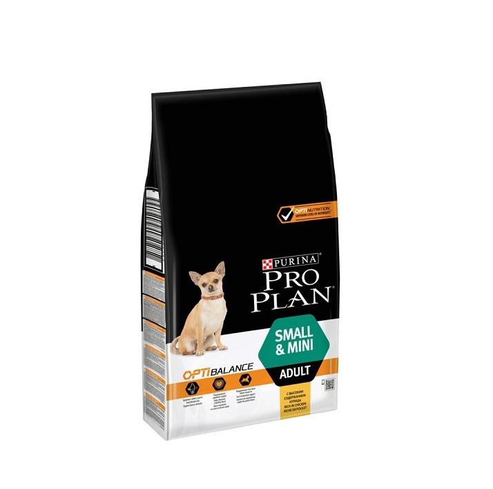 Корм для собак - Pro Plan Small and Mini Adult Chicken, 3 кг