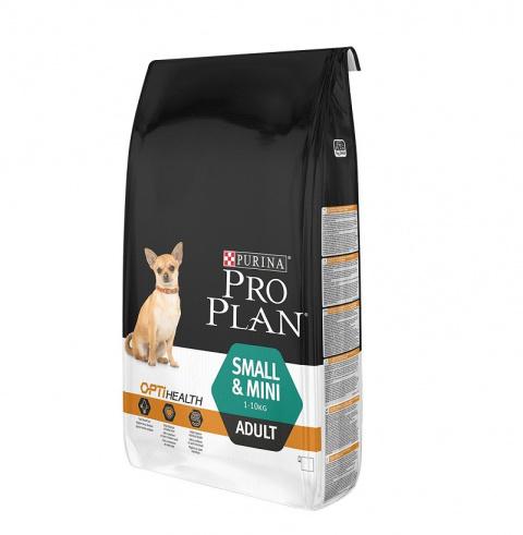 Barība suņiem - Pro Plan Small and Mini Adult ar vistu, 7 kg title=