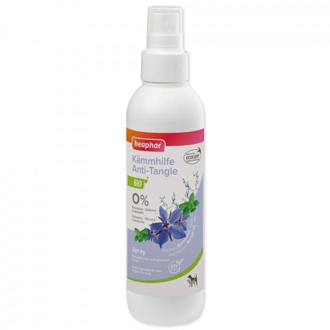 Līdzeklis spalvas kopšanai - Beaphar BIO Anti Tangle Spray, 200 ml title=
