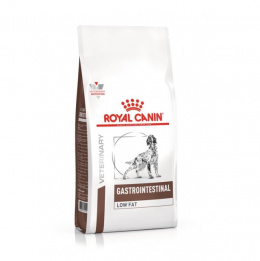 Ветеринарный корм для собак - Royal Canin Veterinary Diet Gastro Intestinal Low Fat Canine, 12 кг