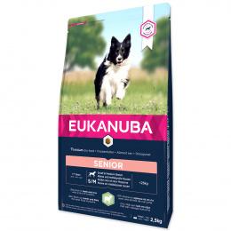 Корм для собак сеньоров – Eukanuba Mature and Senior Lamb and Rice, 2,5 кг