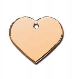 Medaljons – Heart Large Gold