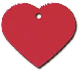Медальон - Heart Large Red