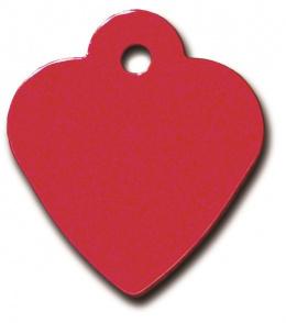 Medaljons – Small Heart Red