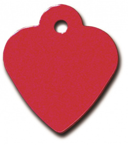 Медальон - Small Heart Red