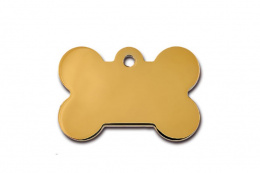 Medaljons – Bone Large Gold
