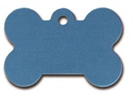 Medaljons – Bone Large Blue